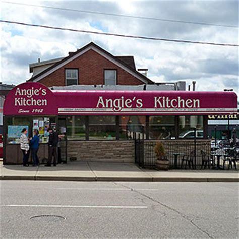 Angie Kitchen Menu by Kitchener Waterloo Cafe Restaurant Reviews
