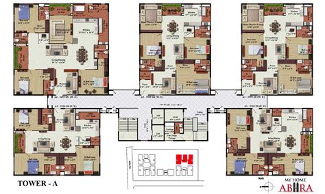 plan my house my home abhra madhapur by my home group in hyderabad west