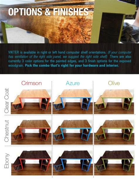 Kickstarter Gaming Desk Vikter Gaming Desk Now On Kickstarter By Tom Balko At Coroflot