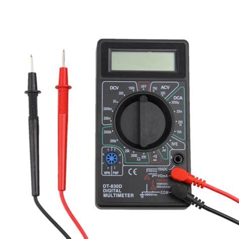 Multimeter Digital Dt830b professional dt830b lcd display digital multimeter ammeter voltmeter ohm electrical tester