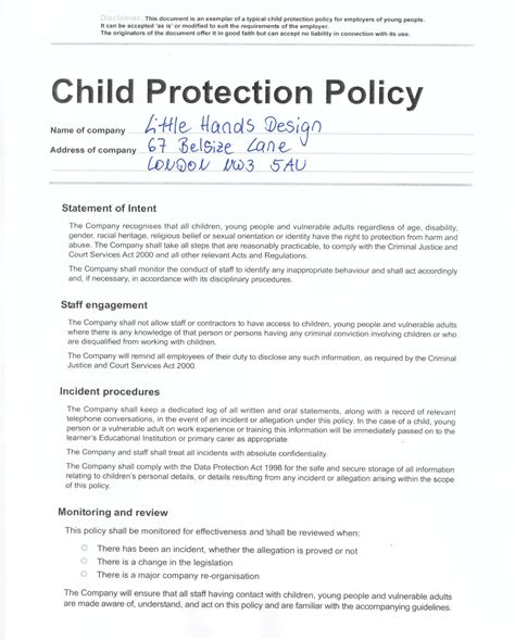 child protection policy template for community groups child protection policy design sewing and