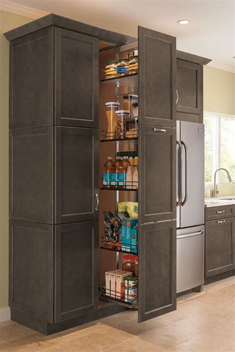 thomasville organization tall pantry pull  cabinet