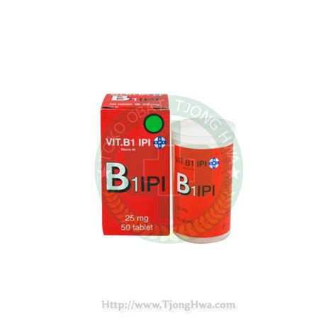 Vitamin B Komplex Ipi Vitamin B1 Lookup Beforebuying