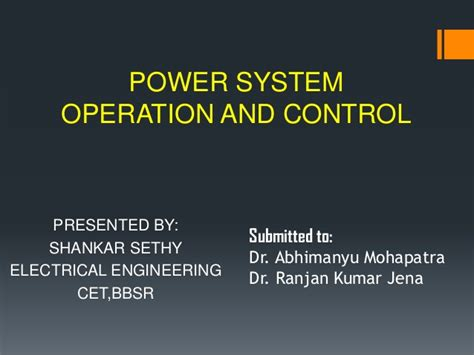 power system operations and electricity markets electric power engineering series books power system operation and