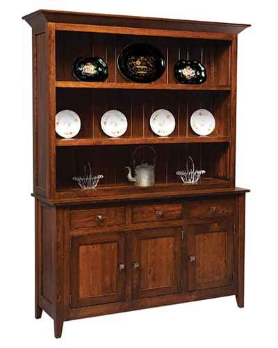 oak dining room hutch american oak creations gt dining room gt hutches gt settlers