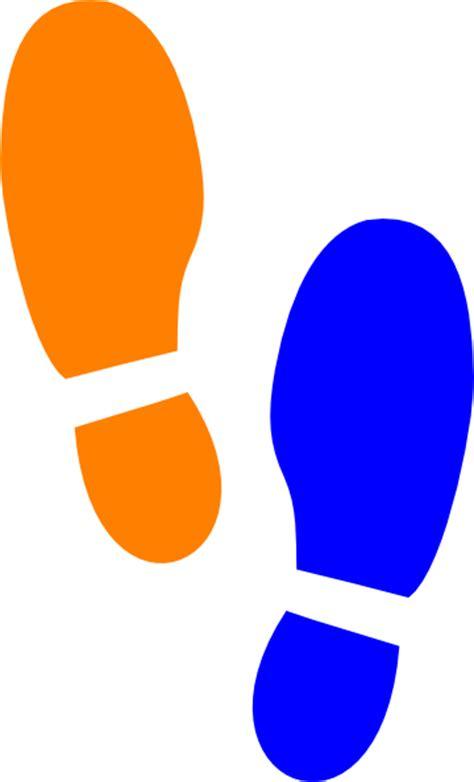shoe print clip at clker vector clip