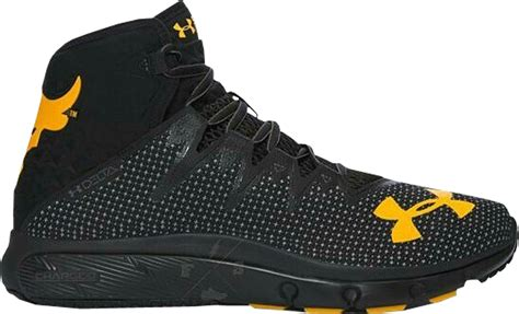 dwayne the rock johnson under armour under armour the rock delta black yellow stockx news