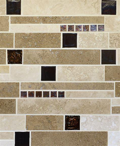 glass tile backsplash white cabinets 30 day money back brown glass travertine mix backsplash tile for traditional