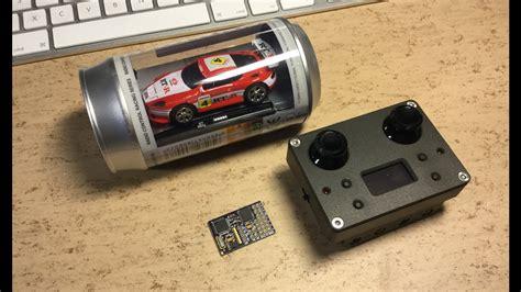 arduino tutorial rc car coke can car arduino 2 4ghz quot micro rc quot conversion will