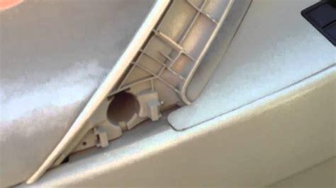 how to remove front door panel on a 1992 geo metro how to remove the front door panel 2007 2011 toyota doovi