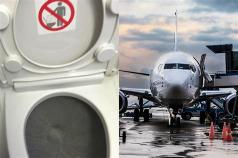 where does airplane bathroom waste go what happens when you flush an airplane toilet reader s