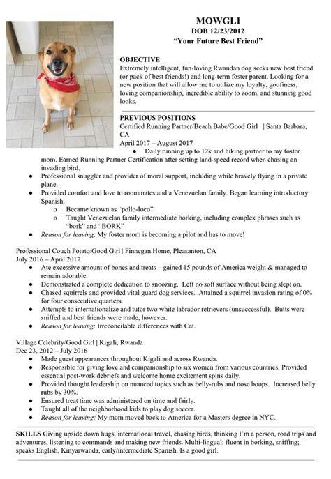 Doc Resume by Creates Sweet Resum 233 For Mowgli Seeking A New