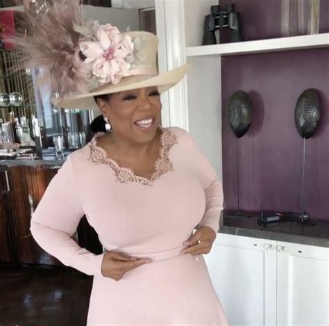 oprah winfrey on instagram oprah winfrey reveals her dress nearly clashed with meghan