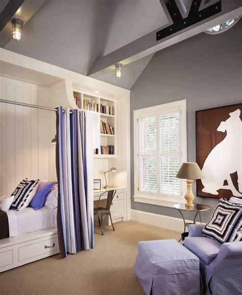 twin headboards cottage boy s room benjamin moore built in bed contemporary boy s room benjamin moore