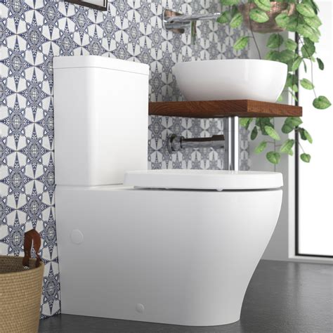 luna bathrooms caroma luna back to wall toilet suite thrifty plumbing