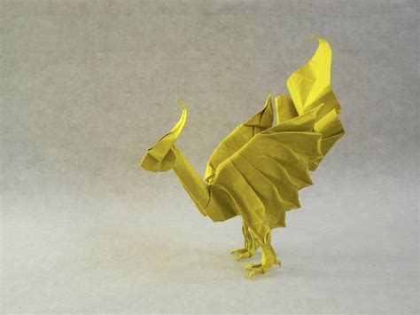Origami Chocobo - chocobos summons fiends and other amazing