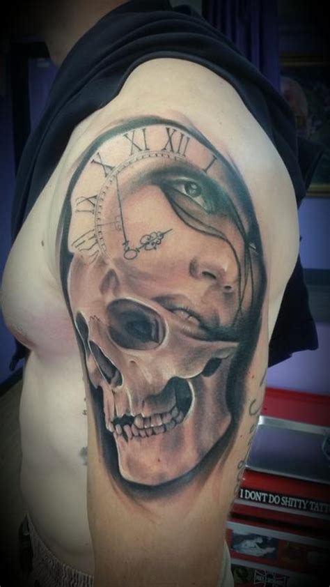 time waits for no one tattoo time waits for no one by mike romasco tattoos