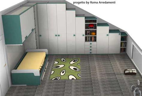 ordinario Parti Del Letto #1: camerette-da-mansarda-roma-arredamenti.jpg