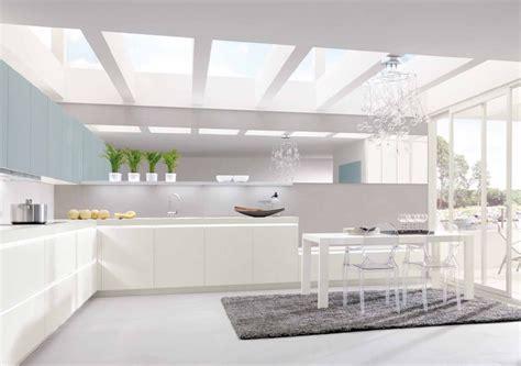 sparkling white kitchen interior design ideas