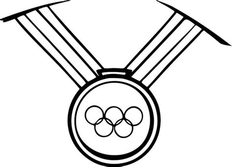 free olympic medal coloring pages