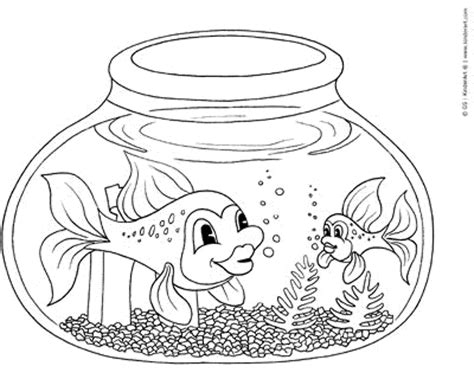 fish coloring page to print fish bowl coloring page printable coloring home