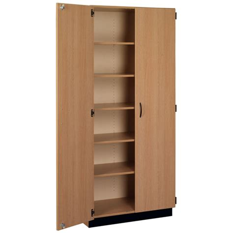Stevens 83129 X84 Tall Storage Cabinet With Doors Schoolsin Shelf Cabinet With Doors