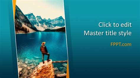 lake powerpoint template  powerpoint templates