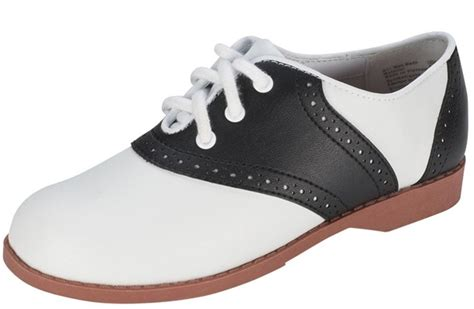 saddle shoes 50 s style black and white saddle shoes sizes 11 12