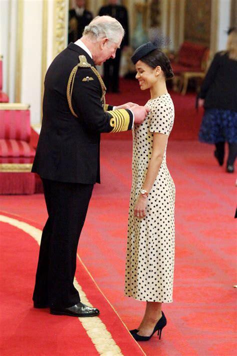 gugu mbatha raw  awarded mbe  prince charles