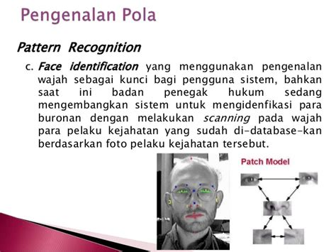 Pengenalan Pola Aplikasi Untuk Pengenalan Wajah Analisis Tekstur Oby chap 9 pengenalan pola part 1
