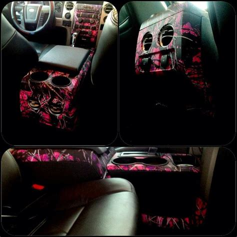 muddy camo accessories and the inside of pink1 muddy camo vehicles