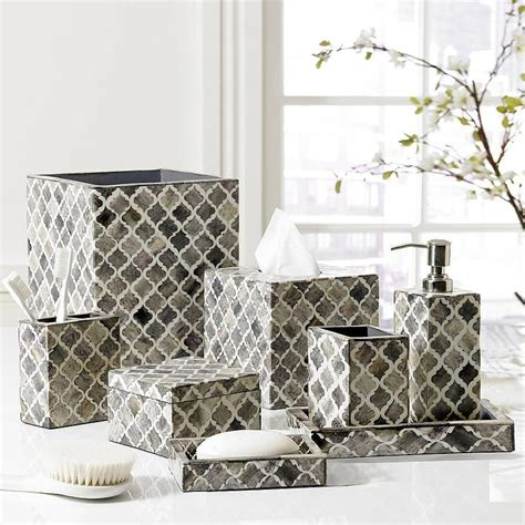 grey and white bathroom accessories white and grey luxury bath accessory sets