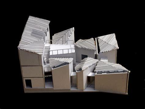 Architecture Papercraft - galeria de gaoligong museu do papel artesanal tao trace