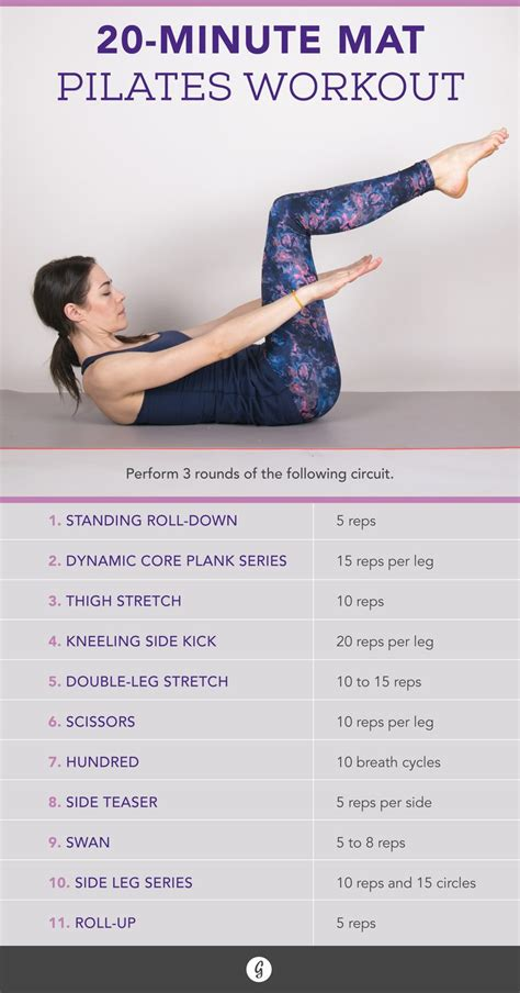 runners    minute travel friendly pilates core