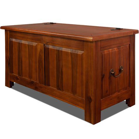 wooden trunk storage chest antique blanket box