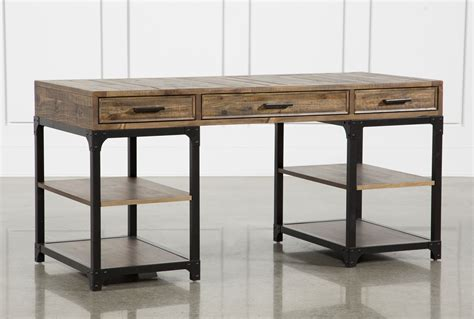 living spaces desk foundry writing desk living spaces