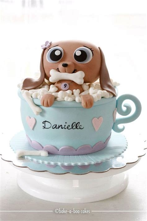 puppy cakes it s raining cats and cake designs