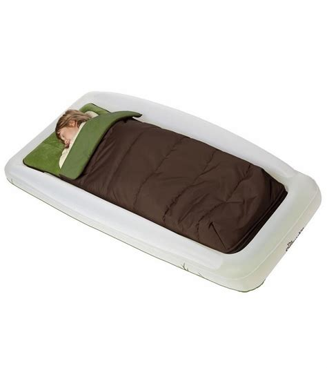 kid travel bed the shrunks tuckaire outdoor kids travel bed