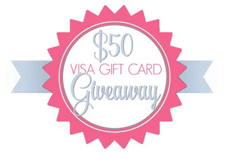 Worldwide Visa Gift Card - let s celebrate 50 visa giveaway worldwide a