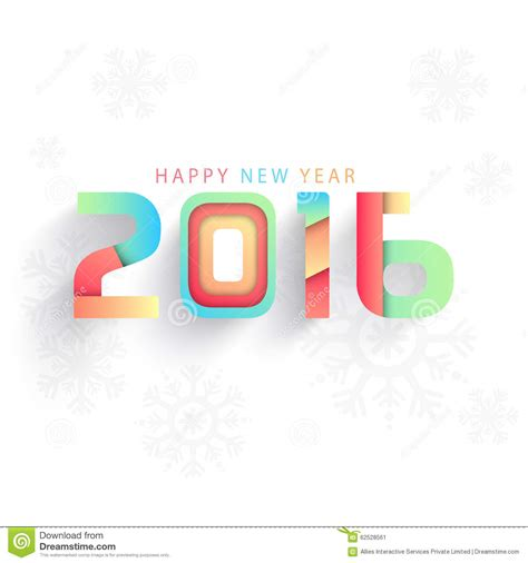 creative happy new year texts colorful text for happy new year 2016 stock photo image 62528561