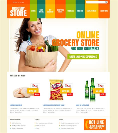 store website themes 29 grocery store website themes templates free