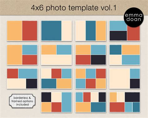 free photo card templates 4x6 4x6 photo card template 4x6 storyboard template photobook