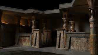 Modern ancient egyptian architecture interior ancient