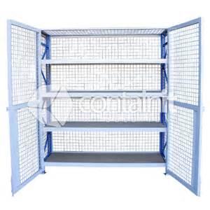 lockable storeman longspan shelving mdf shelves