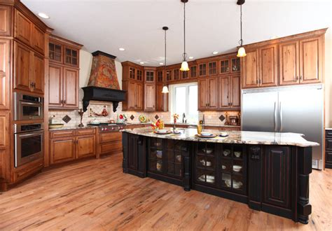beech kitchen cabinets french country kitchen rustic beech traditional