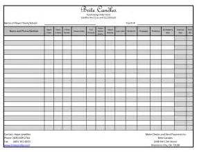 fundraising forms templates best photos of excel fundraising template free event