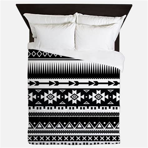 black and white aztec comforter black and white aztec bedding black and white aztec