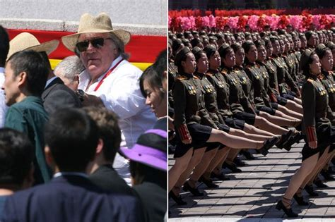 gerard depardieu in north korea kendall jenner flashes nipples again as she steps out in