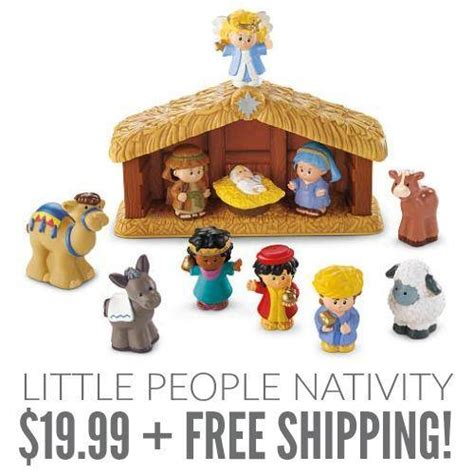 fisher price  people nativity set