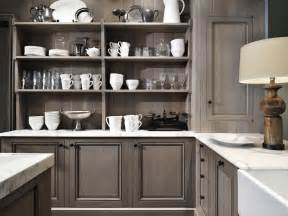 Kitchen Design Grey by Grey Stained Cabinets Kitchen The Interior Design
